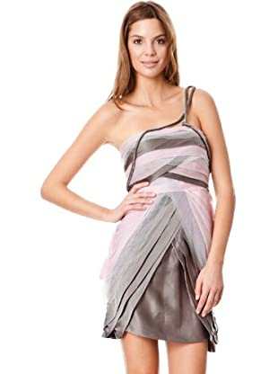 BDBA Vestido Nydia (violeta / gris)