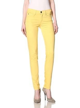 MILK Denim Women's Skinny Jean (Yellow)