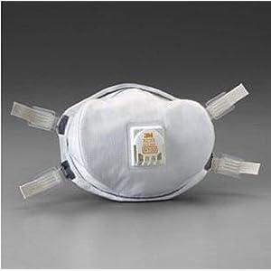 3M スリーエム 8233 N100 防塵マスク 世界最高水準(99.9%以上の捕集効率) 【5枚】 放射能物質 PM2.5 中国 大気汚染対応 日本語説明書付 [並行輸入品]