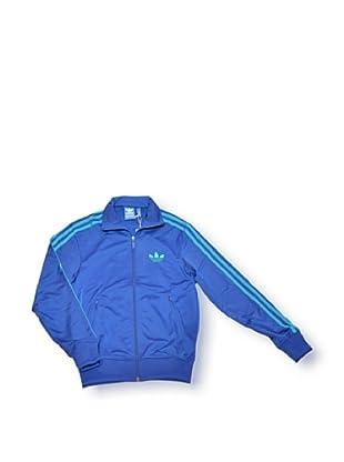 adidas Chaqueta Firebird (Azul / Turquesa)