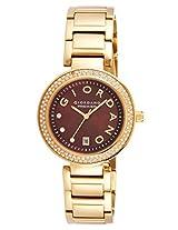 Giordano Analog Brown Dial Women's Watch - P281-33