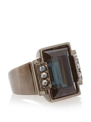 Judith Leiber Emerald Cut Ring