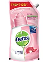 Dettol Skincare pH Balanced Liquid Handwash Refill Pouch - 800 ml (Buy at Rs 129)