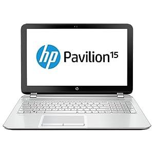 HP Pavilion 15-n209TX 15.6-inch Laptop (Pearl White) without Laptop Bag