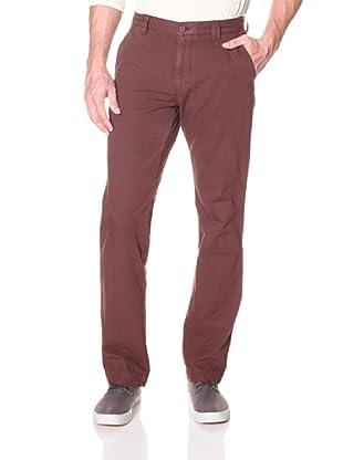 Khaki Surplus Men's New York Pant (Burgundy)