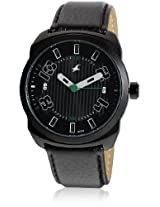 9463Al02-Dc707 Black/Black Analog Watch