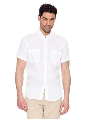 Pedro del Hierro Camisa Lino (Blanco)