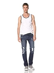 Rockstar Men's Super Skinny Jean (Blue)
