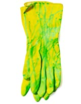 Biohazard Rubber Adult Gloves with Ooze Accessory Size One-size