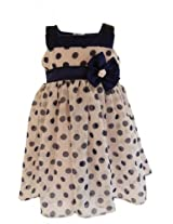 Faye Georgette Baby Girl Dress (Dr001046 -Blue -8-9 Years)