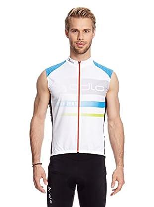Odlo Fahrradweste Stand-Up Collar S/L Full Zip Telegraphe