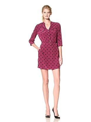 Yoana Baraschi Women's Blind Spot Shirt Dress (Ultra Berry)