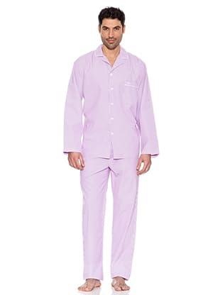 Pedro Del Hierro Pijama Rayas (Rosa)