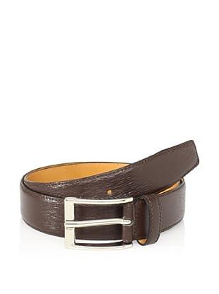 Leone Braconi Men's Minipaglia Belt (Brown)