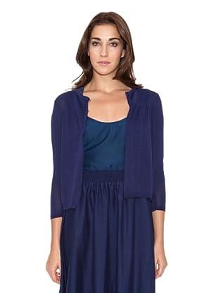 SIYU Chaqueta Knit Lisos (azul marino)