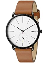 Skagen Hagen Analog White Dial Men's Watch - SKW6216