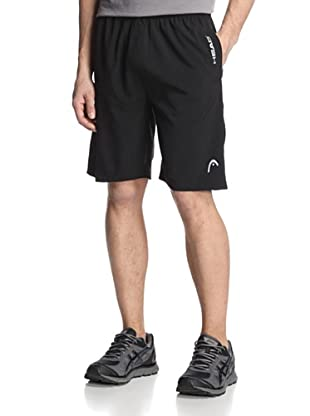 HEAD Men's Break Point Shorts (Black)
