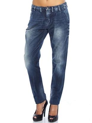 Pepe Jeans London Pantalón Vaquero Chintz (Azul Oscuro)