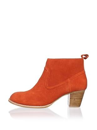 DV by Dolce Vita Women's Jamison Bootie (Orange/Red Suede)