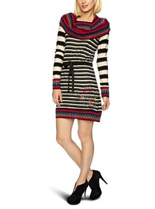 Desigual Vestido corto, 27V2081 (Negro)