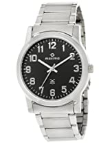 Maxima Attivo Analog Black Dial Men's Watch - 20893CMGI