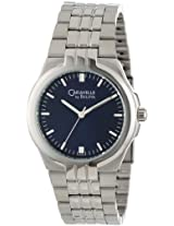 Caravelle by Bulova Men's 43A04 Bracelet Blue Dial Watch
