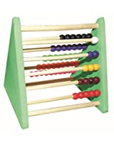 Kinder Creative Triangle Abacus With Wooden Rods 1-10
