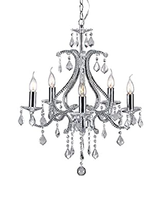 Zuo Palisade Ceiling Lamp, Chrome
