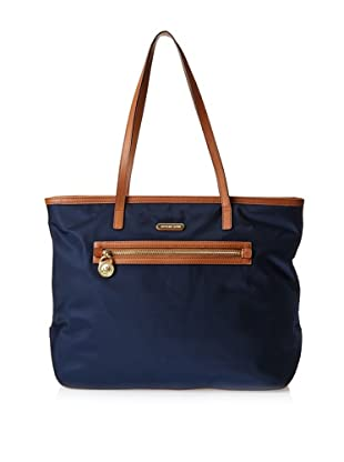 MICHAEL Michael Kors Women's Kempton Large East/West Tote, Navy