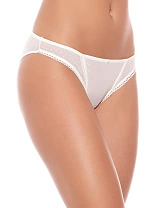 GISELA Pack x 2 Braguita Bikini (Marfil)
