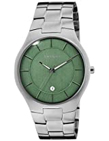 Skagen End-of-Season Grenen Analog Green Dial Men's Watch - SKW6182