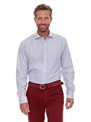 Cortefiel Camisa Rayas (Azul)