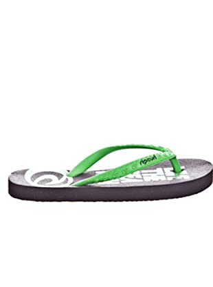 Rip Curl Chanclas Bondi Glitter (Verde)