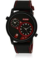 Fl-126-Ipb-Bk03 Black/Black Analog Watch Flud