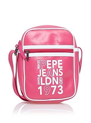 Pepe Jeans Bandolera Texto Rosa
