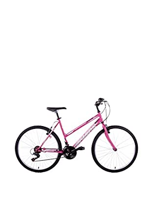 Schiano Cicli Bicicleta 26 Wild Cat, 18V. Rosa