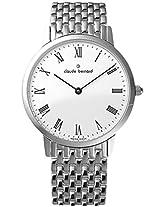 Claude Bernard Classics Analogue White Dial Women's Watch - 20059 37M BR