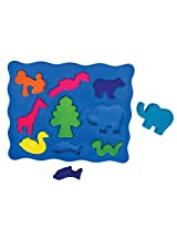 Rubbabu 3D ShapeSorter - Animal Shapes