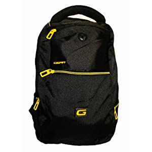 Gear Black Unisex College Backpack