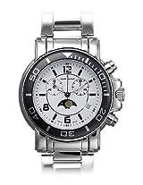 Claude Bernard Analogue White Dial Men's Watch - 11008 3N AB
