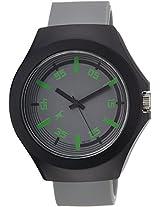 Fastrack Tees Analog Grey Dial Unisex Watch - 38004PP07J