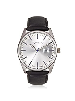 English Laundry Men's EL7603S236-322 Black/Silver Alloy/Stainless Steel Watch