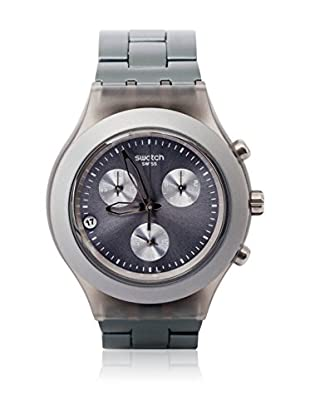 Swatch Quarzuhr Unisex Unisex FULL-BLOODED SMOKY GREY SVCM4007AG 43.0 mm