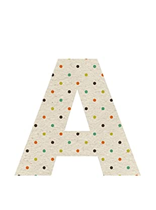 Letra Decorativa Letra A