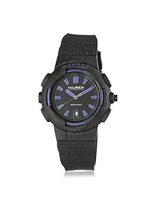 Haurex Men's 2P504UBN Tremor Black Rubber Watch