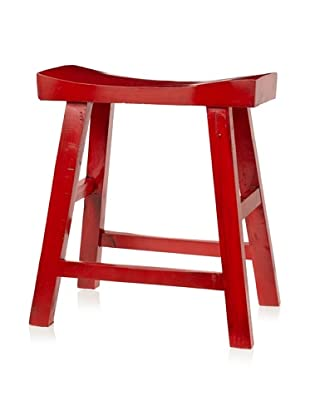 Royola Pacific Curve Up Stool (China Red)