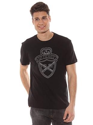 Gianfranco Ferré Camiseta Estampado (Negro)