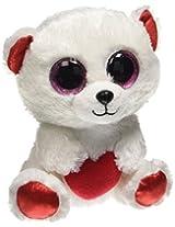 """Ty Beanie Boo Cuddly Bear The Polar Bear 6"""""""