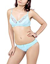 LITTLE LACY Fancy Set, Sky Blue (Size -38B)