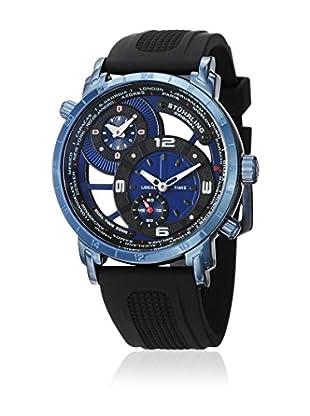 Stührling Original Uhr mit schweizer Quarzuhrwerk Man Renegade 681.02 Schwarz